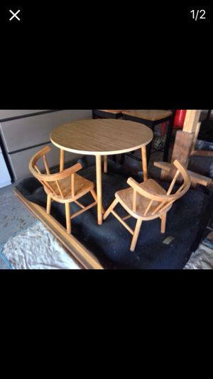 Kids table with two chairs for Sale in Caledonia, MI