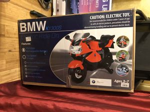 BMW k1300s Motorcycle 12V Battery Powered Ride - Red for Sale in Broussard, LA