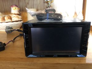JVC touch screen DVD car stereo for Sale in San Antonio, TX