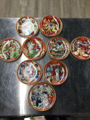 Coca Cola Calender Plates for Sale in Dallas, TX