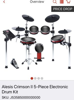 alesis drum kit with roland kick for Sale in Gaithersburg, MD