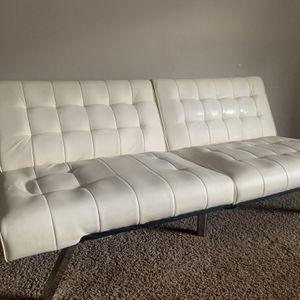 Leather Futon Set for Sale in Lawrenceville, GA