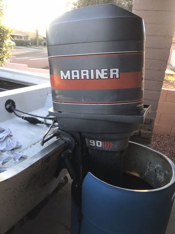 Craiglist Phoenix Az >> 1988 mariner outboard motor 90 hp for Sale in Phoenix, AZ - OfferUp