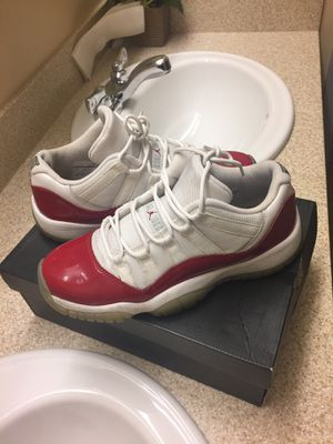 Jordan 11s red & white for Sale in St. Louis, MO