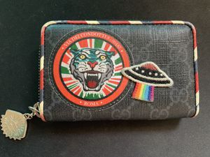 Gucci Night Courrier GG Supreme Card Case / Zipper Wallet for Sale in West Covina, CA