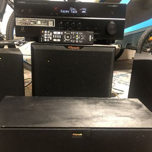 Klipsch Speakers With Yamaha Receiver for Sale in Chula Vista, CA