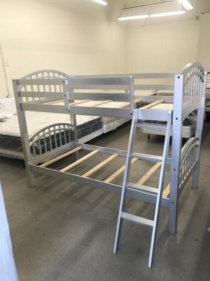 Twin over twin bunk bed Brand New in the box for Sale in San Diego, CA