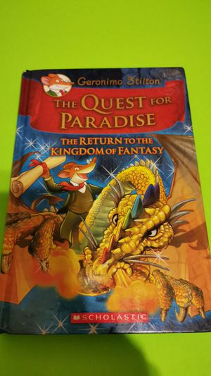 The Quest for Paradise by Geronimo Stilton for Sale in McDonough, GA