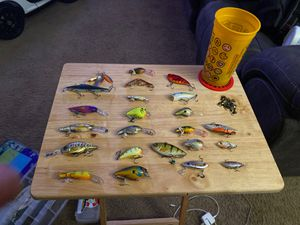 Fishing lures 3 each for Sale in Wheat Ridge, CO