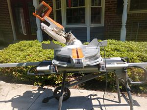 Rigid sliding miter with stand job site for Sale in Fairfax Station, VA