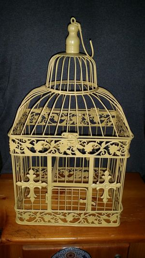 Antique style metal bird cage for Sale in Vista, CA