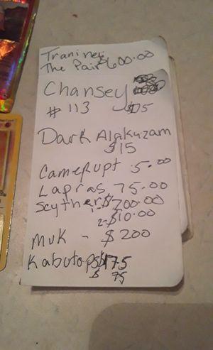 Pokemon cards all for $1000 obo all holograms for Sale in Zephyrhills, FL