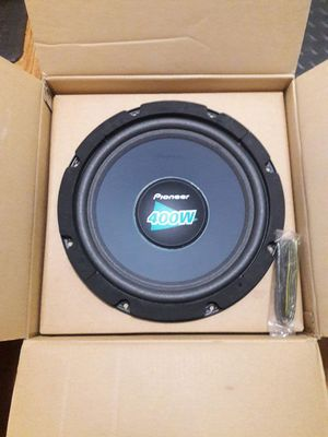 """Pioneer 400 Watts 12"""" Subwoofer for Sale in San Francisco, CA"""