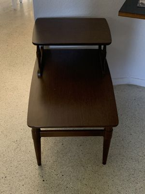 Two Tier End Table Mid Century Modern for Sale in PT CHARLOTTE, FL