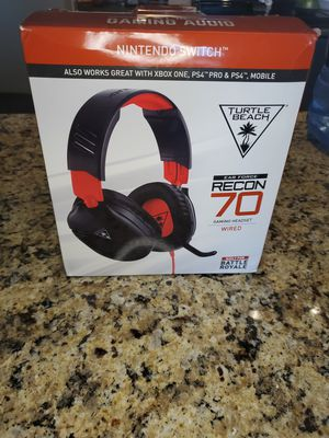 TURTLE BEACH RECON 70 GAMING HEADSET for Sale in Austin, TX