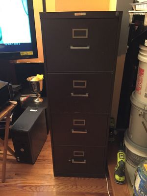 4 drawer filing cabinet for Sale in Fairfax, VA
