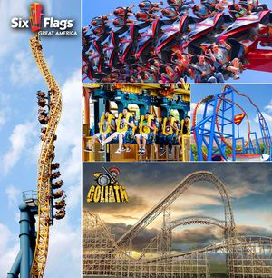 Sixflags season passes for Sale in Chicago, IL