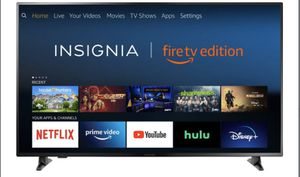 "Insignia - 65"" LED - 2160p - Smart - 4K UHD TV with HDR - Fire TV Edition for Sale in Crownsville, MD"