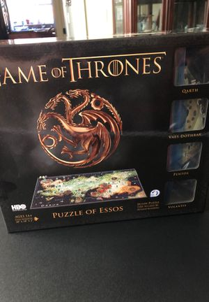 Game of Thrones 3D puzzle for Sale in Tualatin, OR