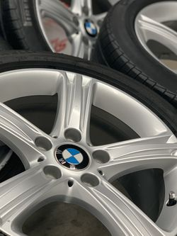 """BMW 17"""" OEM wheels rims with 225/50/17 run flat Pirelli tires for Sale in Lake Forest,  CA"""