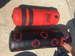 2 heavy boxing / punching bags for Sale in Redondo Beach, CA