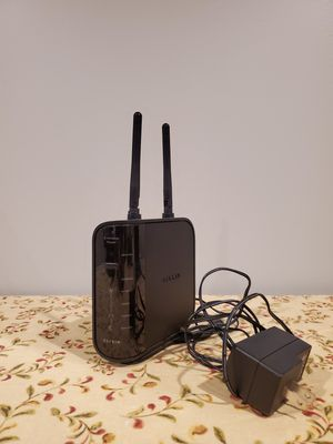 Belkin Wireless N Router with 4-Port Switch for Sale in Naperville, IL