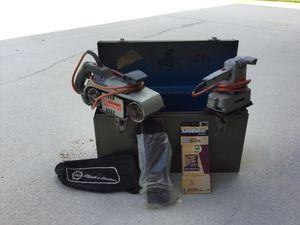 Black and Decker Belt and Vibrating Sander W/ Metal Case for Sale in Sebastian, FL
