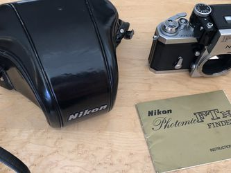 NIKON F PHOTOMIC FTn FILM CAMERA BODY for Sale in Bryn Mawr,  PA