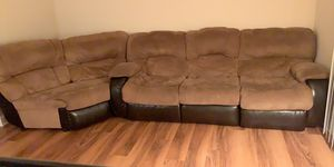 5 Seater Couch, With Rocker Recliner, Couch Recliner for Sale in Alexandria, VA