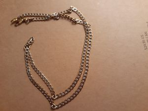 braided gold and silver necklace for Sale in Glendale, AZ