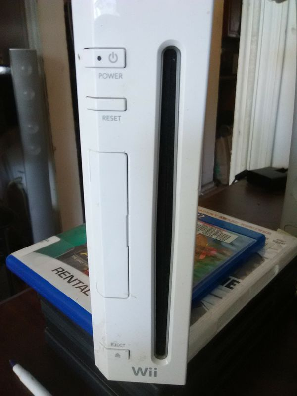Wii console with power cord and av cable only for $45
