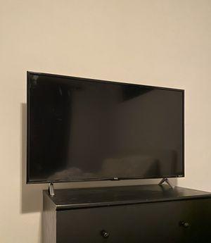TCL 43S405 43-Inch 4K Ultra HD Roku Smart LED TV (2017 Model) for Sale in Seattle, WA
