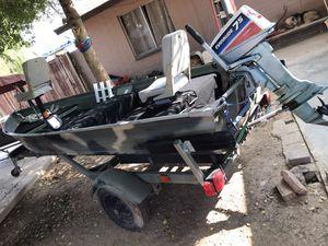 Camo print boat for Sale in Glendale, AZ