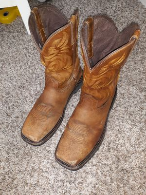Justin work boots size 10 D for Sale in Austin, TX