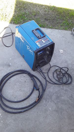 Miller. Millermatic 175 230v wire I have it for $500 it come with tank for Sale in Ontario, CA