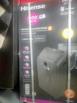Portable a/c unit with heater for Sale in Federal Way, WA
