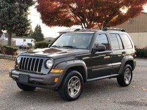 2006 Jeep Libery renegade 4x4 for Sale in Tacoma, WA