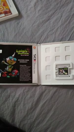 3DS game Luigi's mansion for Sale in Baltimore, MD