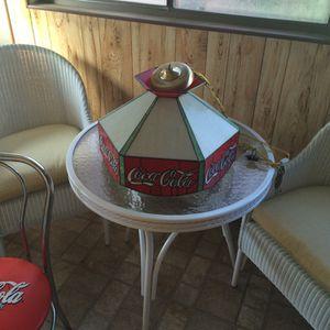 Coca-Cola Memorabilia Dining Light - Coke light. for Sale in Boston, MA