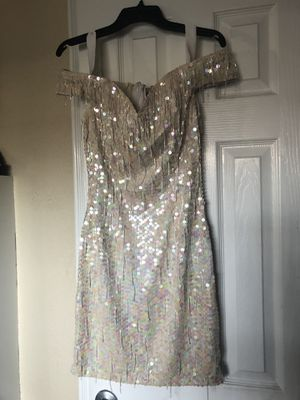 Formal Dress Pearl Color for Sale in Downey, CA