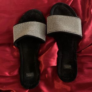 Diamond Studded Victoria Secret Slippers for Sale in Melrose Park, IL