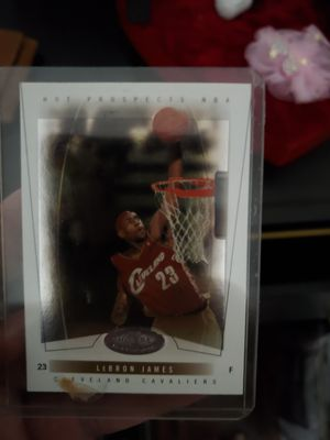 Lebron James card for Sale in Mesquite, TX