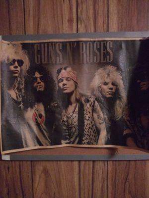Guns n roses poster for Sale in Ocala, FL