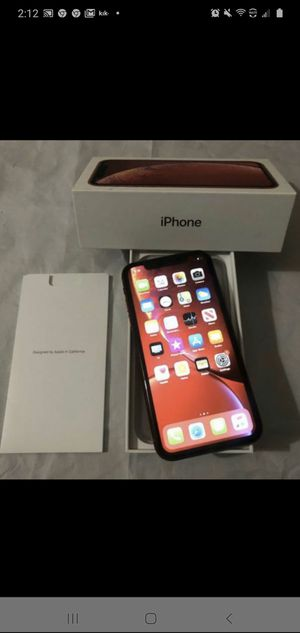 iPhone xr unlocked 256 gb for Sale in Downey, CA