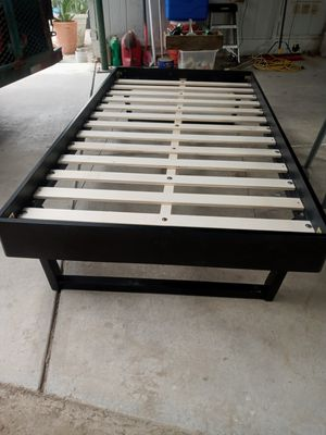Modway wooden twin size frame new, just put it together. for Sale in Bakersfield, CA
