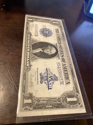 1923 Silver Dollar Certicate for Sale in Queens, NY
