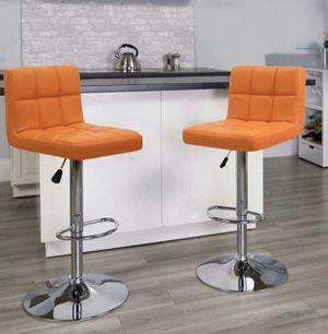 New 2 orange stools for Sale in Orlando, FL
