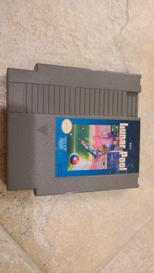 NES - Lunar Pool - 1985 for Sale in Chandler, AZ
