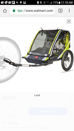 In step bicycle trailer for Sale in Hialeah, FL