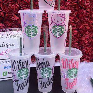 Customize Starbucks 24oz. Cup. AVAILABLE & READY For PICK UP. 👇🏻 Please Read 👇🏻👇🏻 for Sale in South Gate, CA